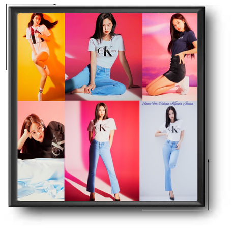 Somi For Calvin Klein's Jeans