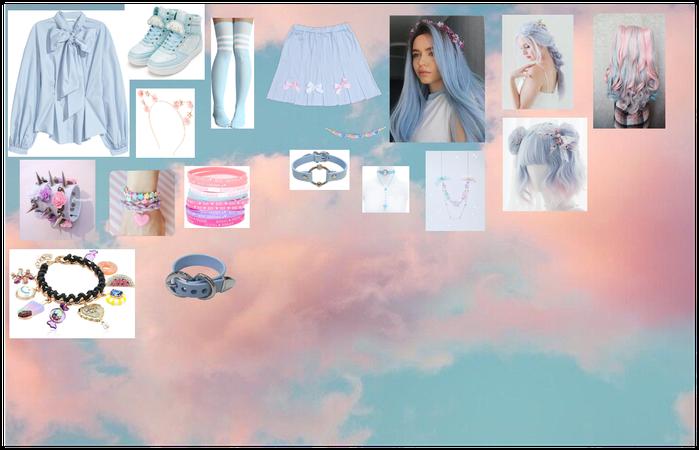 Pastel Blue kawaii aesthetic