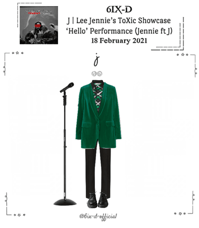 6IX-D [식스디] (J) Jennie's ToXic Showcase 210218