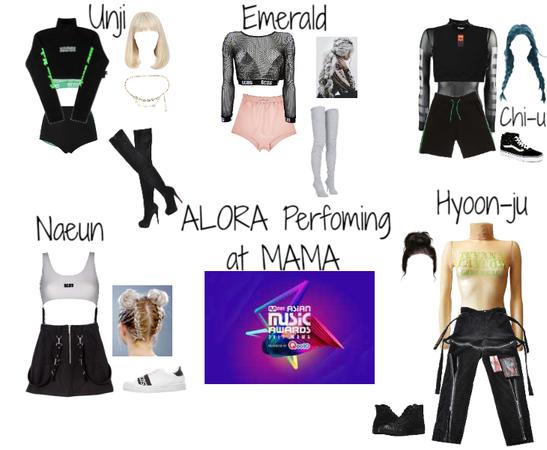 Performing DDU-DU DDU-DU At The MAMA Awards || Fake K-Pop Girl Group ALORA