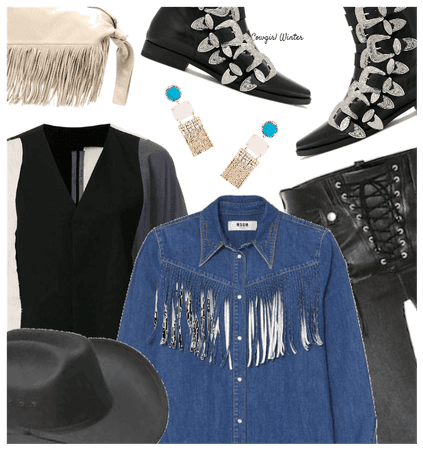 Trend: Winter Cowgirl