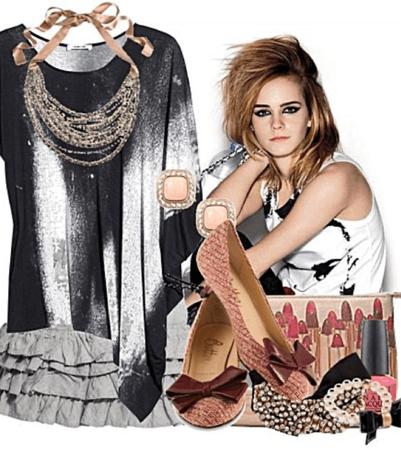 TBT - Old Poly Set - Emma Watson Challenge