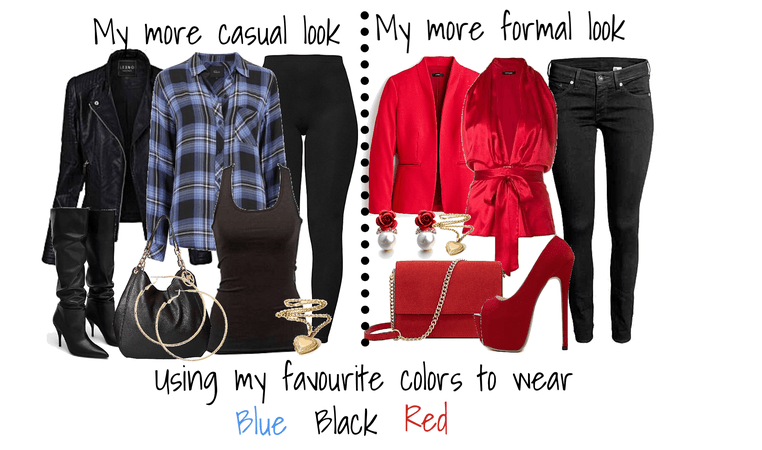 casual look and formal look — all moi