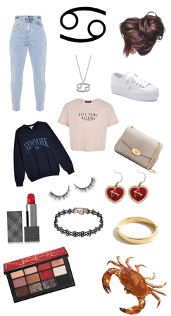 cancer ♋️ inspired outfit