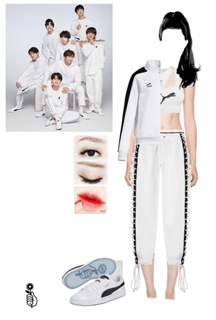 BTS Puma photo shoot 8th member outfit