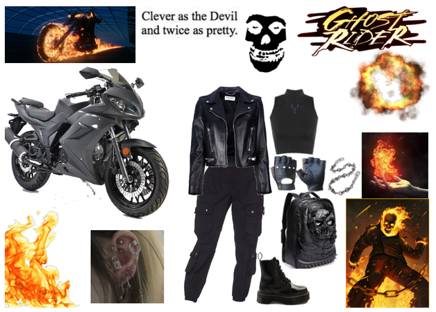 If I was in Ghost rider.....