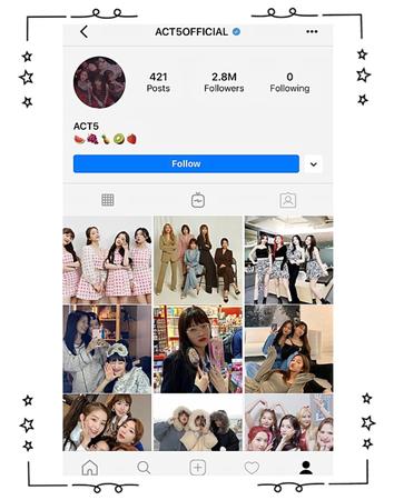 ACT5 Instagram