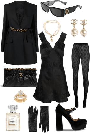 What I would wear to my sugar daddies funeral when I get all his money
