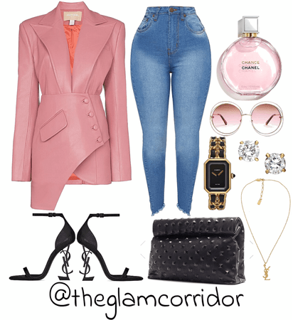 Blazing in pink