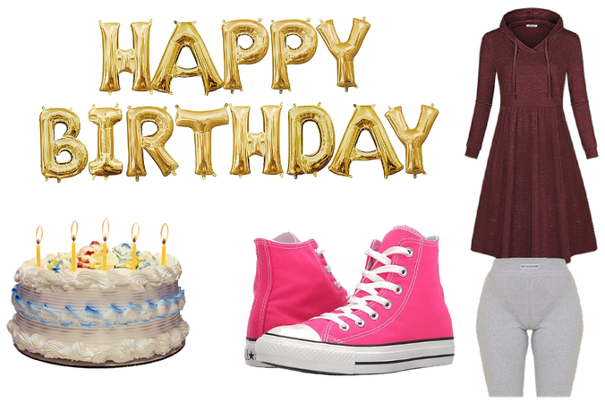 today is my birthday!!my birthday oufit