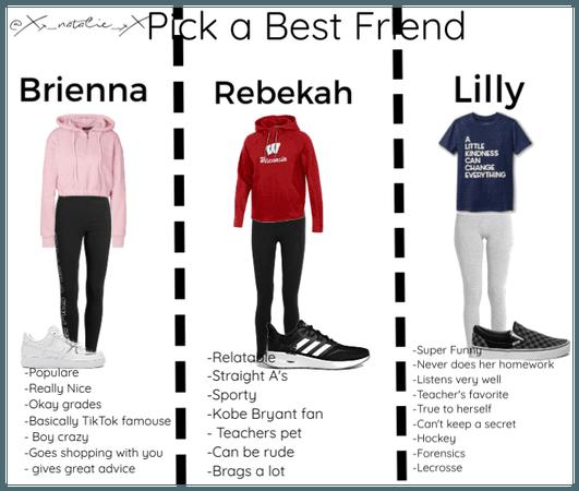 Pick a Best Friend