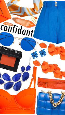 Confidence in Orange and Blue💙🧡
