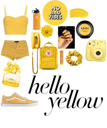 Yellow and Happy