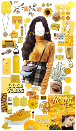 yellow inspo outfit
