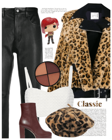Leopard and fur