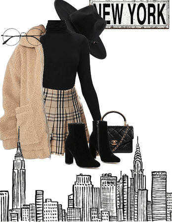 New York girl outfit!!