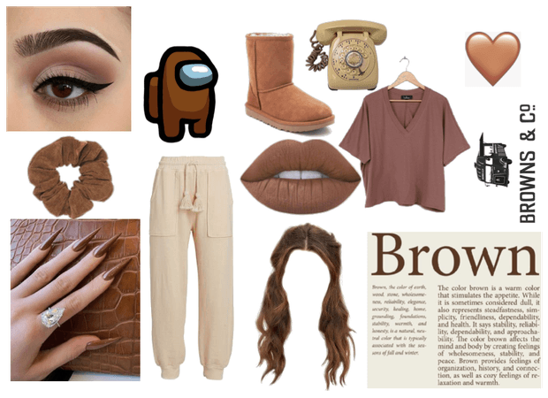 Brown and Comfortable