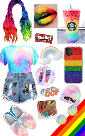 THE RAINBOW OUTFIT
