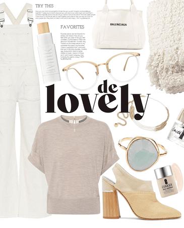 minimal de lovely