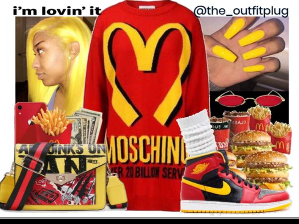 my favvv fast food: micky d's!