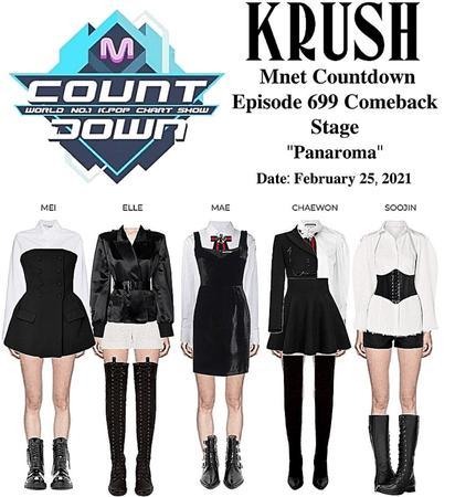 "KRUSH Mnet Countdown Comeback Stage ""Panorama"""