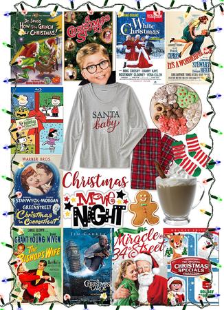 Christmas at Home Movie Night