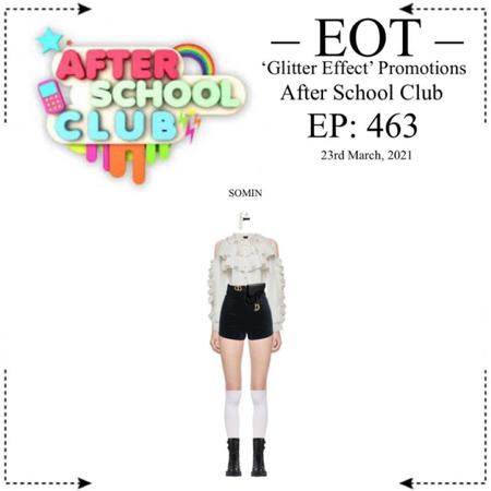 EOT (내일의황후) [SOMIN] ASC//After School Club