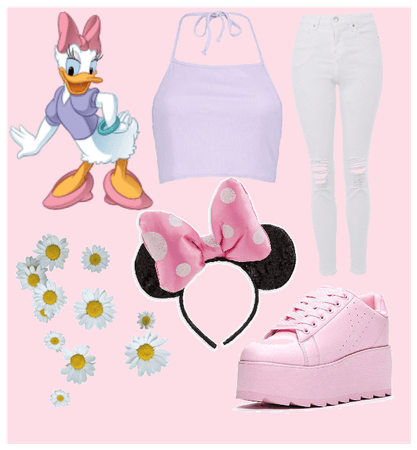Daisy Duck Inspired Outfit
