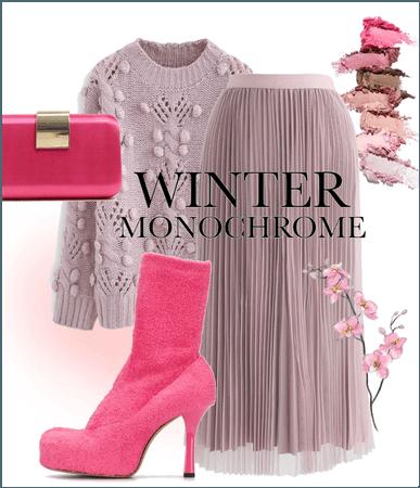 Winter monochrome 💗