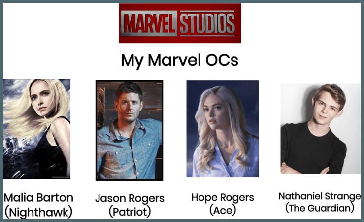 "My ""Marvel MCU"" OCs"