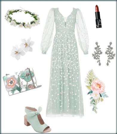 Mint summer floral