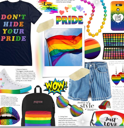 Don't  Hide Your Pride! 💙👌🌈