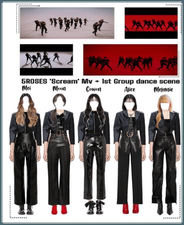 5ROSES 'Scream' Mv Opening + 1st group dance scene