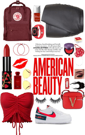 red American beauty