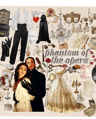 phantom of the opera // @mooncitymotel