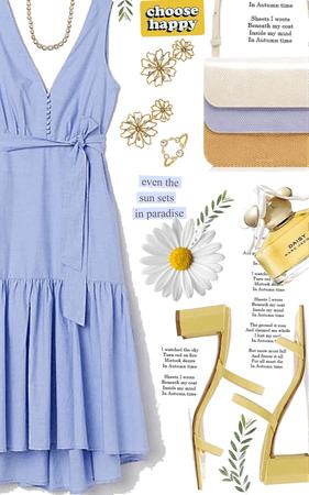 Daisy & blue