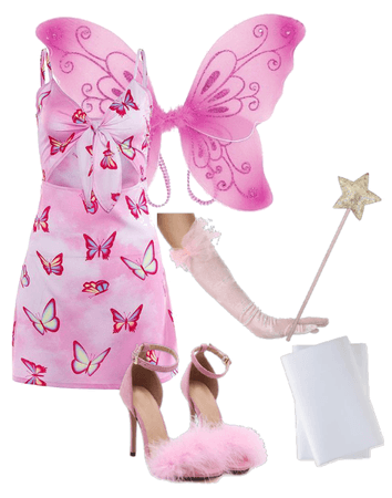 31 Costumes of Halloween: Modern Pink Fairy
