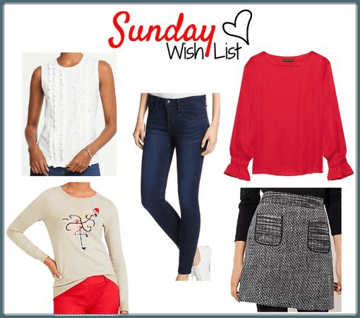 Sunday Wish List