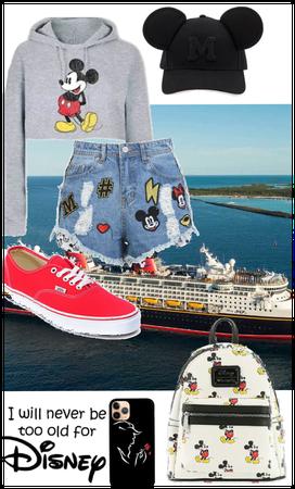 Disney Cruise - Adieu