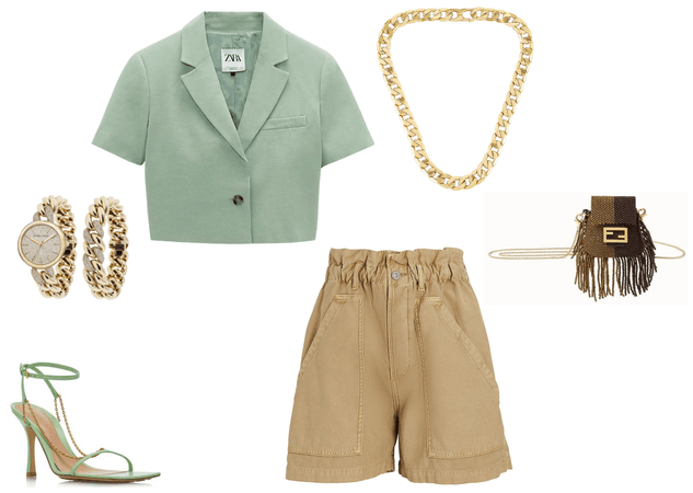 soft and chic evergreen