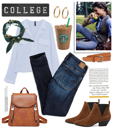 Back to college preppy style