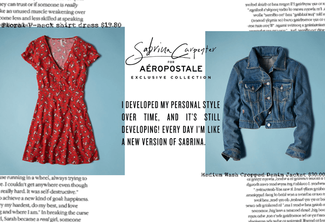 The Sabrina Carpenter Collection for Aeropostale