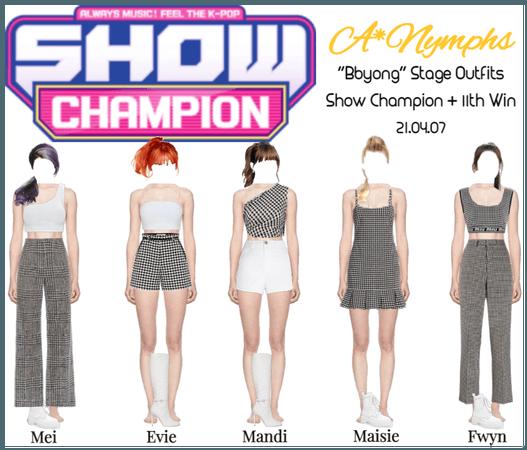 A*Nymphs [Show Champion] 'Bbyong' Performance