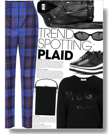 stand out plaid