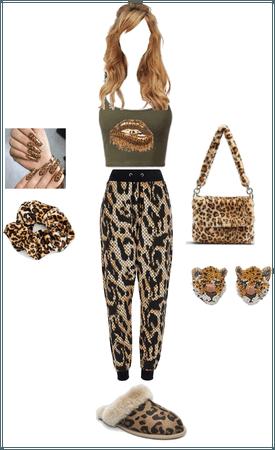 Wild Leopard Purse