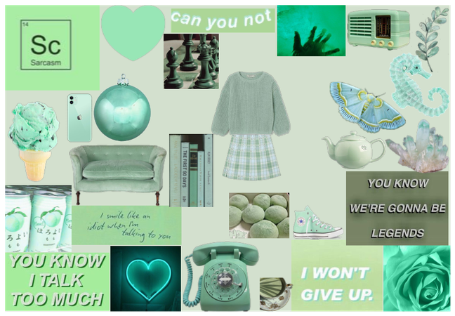 Mint Green Aesthetic
