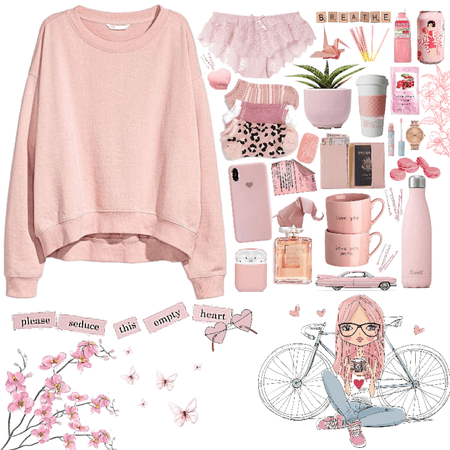 all in pink