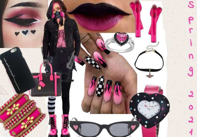 Spring 2021 - Black & Pink