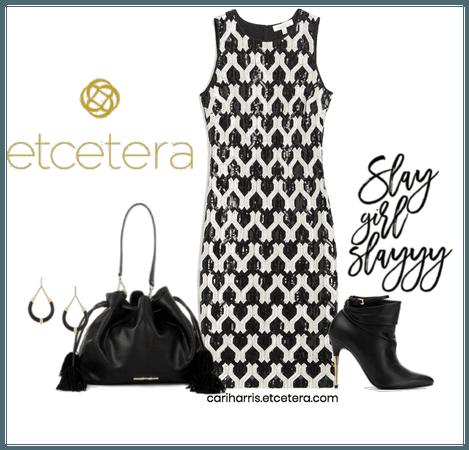 ETC Fall 2020: Yin Yang Dress