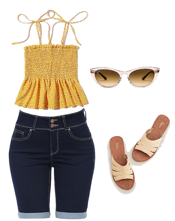 Beach Wear Summer Time outfit.